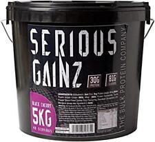 Weight Muscle Gainer Whey Protein Shake Milk Powder Fitness Body Supplement 5KG