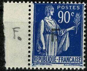 FRANCE 1939  Timbre de Franchise YT n° 10a neuf ★★ Luxe / MNH