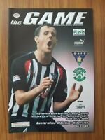 Dunfermline Athletic home programmes 2011-12 season *choose from list*