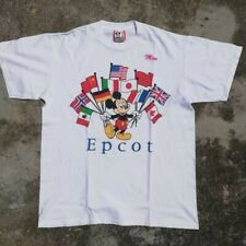 Free Shipping!! Vintage Mickey Mouse Epcot tshirt