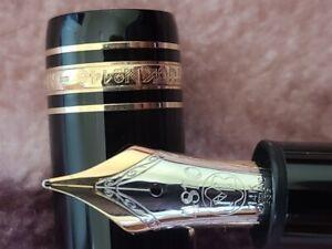 Montblanc Meisterstuck 146 Legrand, 14K M Gold Nib Excellent Condition-Vintage.