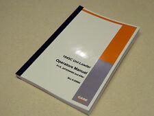 Case 1845C Uni-Loader Skid Steer Operators Manual Owners Book JAF0250483 NEW