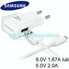 CARICABATTERIE SAMSUNG ORIGINALE 10W EP-TA20 FAST CHARGING GALAXY A5 SM-A500F 15