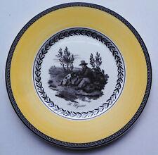 "Vintage VILLEROY & BOCH bone china AUDUN CHASSE 8 1/2"" PLATE - SERVING LUNCH"