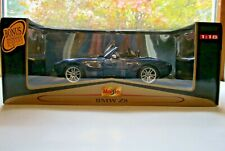 Maisto Blue BMW Z8 Premier Edition 1:18  New Unopened Box