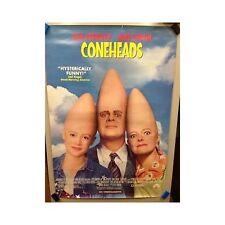 CONEHEADS Original Home Video Poster 90s Cult Dan Akroyd