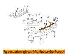 MITSUBISHI OEM 04-05 Endeavor Rear Bumper-Step Plate MR574449