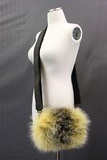 NWT$4995 Brunello Cucinelli Womens 100% Fur 3In1 Bag With Monili Bead Strap A181