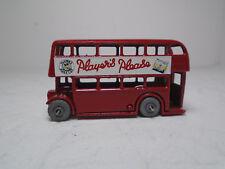 "Moko Lesney Matchbox #5B LONDON DOUBLE DECKER BUS.""PLAYERS PLEASE"" RESTORED GMW"