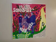 """BEE GEES:To Love Somebody +3-Australia 7"""" 61 Spin Productions Pty.EX- 11,335 PCV"""