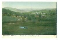 Postcard 1911 Switzerland of America, Warner, New Hampshire ME8.