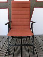 beo Universalauflage für Stühle / 50 x 141 cm / terracotta / Auflage Gartenstuhl