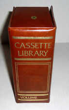 Music Book Style 10 Cassette Included Holder Library