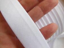 biais vintage ruban bordure blanc 5 mètres sur 2,3 cm