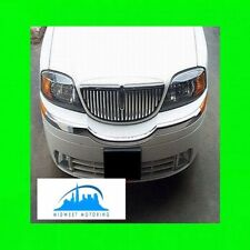 2000-2006 LINCOLN LS CHROME GRILL GRILLE TRIM 2001 2002 2003 2004 2005