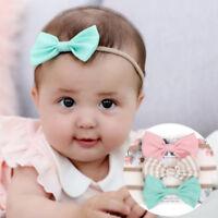 3pcs/set Infant Baby Girl Cute Bow Headband Newborn Headwear Headdress Hair Band
