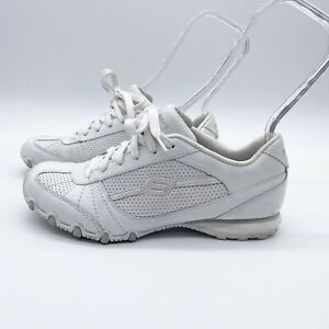Skechers Athletic Sneakers Comfort Shoes Syle #22040 Lace Up White Size 7 EUC