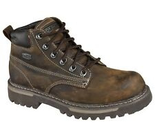 Skechers Mens Cool Cat Bully II Boot Chocolate/Dark Brown Size UK 7 EU 41
