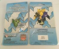 Pokemon OCEANIA International Championship 2019 CELEBI STAFF PIN Sealed