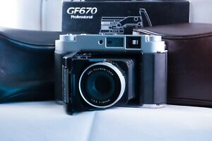 Fujifilm GF670 Boxed and hardly used with exceptionally rare extras