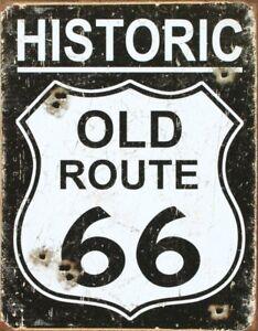 "HISTORIC ROUTE 66 Metal Arrow Sign 6/"" x 20/""  #AR107"