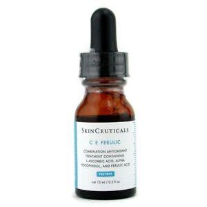 NEW Skin Ceuticals C E Ferulic Combination Antioxidant Treatment 0.5oz Womens