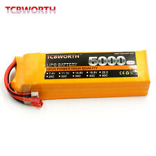 4S 14.8V 5000mAh 25C 30C RC Drone LiPo battery RC Helicopter xt60 t jst xt90
