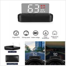 C100 OBD2 Hud Mirror Car Head-up Display Digital Speed Projector Security Alarm