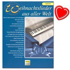 Weihnachtslieder aus aller Welt Keyboard - VHR3502 - 9783920470689