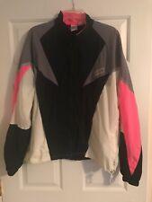 Nike Air Vintage Nylon Windbreaker Track Jacket Gray Black Pink White 90s