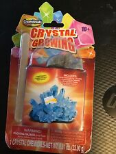 CRYSTAL GROWING CRYSTAL CHEMICALS KIT NEW IN PACKAGE 10+