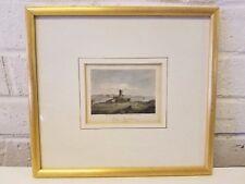 Tonal Argyleshire Scotland Engraved Framed Print by I. Greig