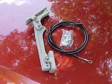 new,cast aluminum firewall mount gas pedal & 4' cable,hardware/rat rod gasser,55