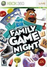 Hasbro Family Game Night (Microsoft Xbox 360, 2009) GOOD