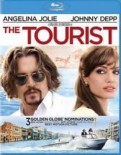 THE TOURIST W/ ANGELINA JOLIE & JOHNNY DEPP  IN ORIGINAL CASE BLU-RAY DISC