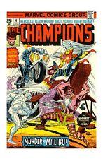 The Champions #4 (Mar 1976, Marvel)