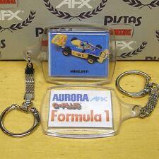 Aurora Afx G+ Tiger Indy F1 Slot Car Key Chain 1980s