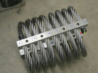 "IDC isolation & shock mount Model M28 7/8"" stainless steel wire rope"