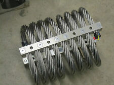 """IDC isolation & shock mount Model M28 7/8"""" stainless steel wire rope"""