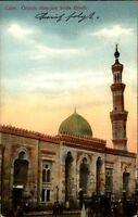 CAIRE Grande Mosquée Seida Zenab Moschee Kairo 1914 Afrika Ägypten Vintage Pc.