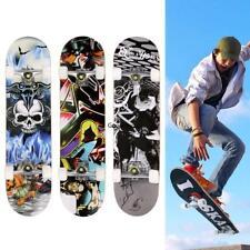 "31""x8"" Skateboard Retro Complete Deck Cruiser Skater Wood Board"