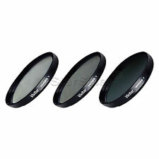 52mm UV CPL ND8 3 Piece Multi Coated Filter Kit for Canon 35-80mm 55-200mm USM