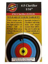 """Specialty Archery #.5 Clarifier 1/16"""" #762 Gold"""