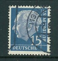 BRD Michel-Nr. 184y Heuss lumo gestempelt - geprüft D. Schlegel BPP - Mi. 48,-