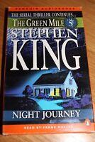 STEPHEN KING THE GREEN MILE Part 5 Night Journey AUDIO TAPE Cassette BOOKS