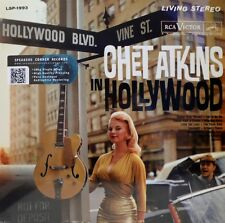 """Chet Atkins-LIVING STEREO-lsp-1993 - """"a Hollywood"""" - REISSUE 180gr"""