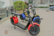 SayCam 1500 Watts Electric Scooter- Available in Yellow, Red & Blue