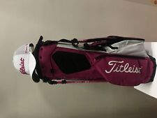 SALE 20% OFF New Golf Titleist Players 4+ Stand bag Pink and White