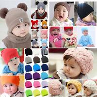 Unisex Toddler Kids Girl&Boy Baby Infant Winter Crochet Knit Hat Cute Beanie Cap