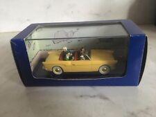 Tintin car La voiture bordure